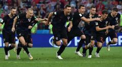 Croacia venció a Rusia por penales