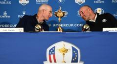 Jim Furyk y Thomas Bjorn, capitanes en la Ryder Cup.