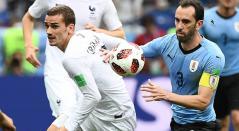 Francia venció 2-0 a Uruguay y se clasificó a la semifinal del Mundial