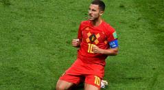 Eden Hazard cumple una brillante labor con Bélgica en Rusia 2018