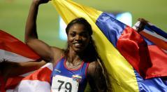 Caterine Ibargüen impuso nuevo récord centroamericano en salto de longitud