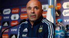 Jorge Sampaoli, técnico de Argentina