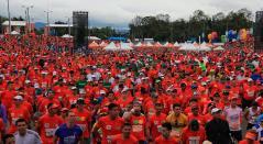 La Media Maratón de Bogotá tuvo al etíope Feyisa Lilesa y a la keniana Brigid Kosgei