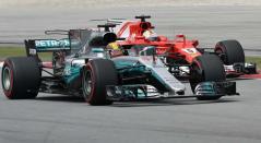 Mercedes Ferrari F1