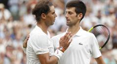 Rafael Nadal y Novak Djokovic