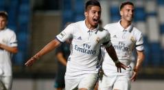 Sergio Díaz, jugador paraguayo que es propiedad del Real Madrid