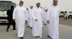 Mohammad Bin Abdullah Mitaab Al-Rumaihi, Hassan al-Thawadi y Saad bin Ahmad Al Muhannadi