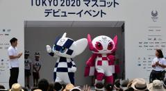 Miraitowa y Someity, mascotas de los Juegos Olímpicos Tokio 2020