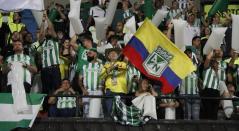 Parte de la afición de Atlético Nacional fue sancionada por mal comportamiento en el partido ante Santa Fe