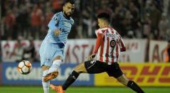 Estudiantes venció a Gremio en la ida de los octavos de final de la Copa Libertadores