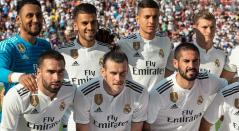 Real Madrid durante uno de los partidos de la International Champions Cup