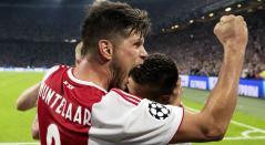 Ajax de Ámsterdam en la ronda previa de la Champions League