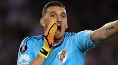 Franco Armani, arquero de River Plate