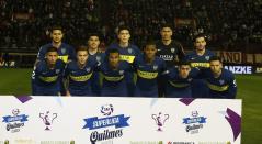 Sebastián Villa fue titular con Boca Juniors