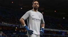Claudio Bravo, portero del Manchester City