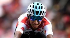 Egan Bernal, ciclista del Team SKY que se perderá la Vuelta a España