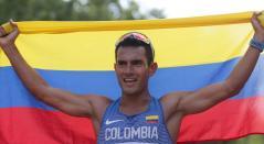 Eider Arévalo se llevó el oro en la Marcha de los Juegos Centroamericanos y del Caribe Barranquilla 2018