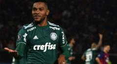 Miguel Ángel Borja, goleador del Palmeiras en la Copa Libertadores