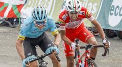 Iván Sosa (Derecha) es el nuevo campéon de la Vuelta a Burgos
