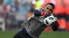 Keylor Navas, arquero del Real Madrid que podría interesar al Manchester City