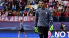 Keylor Navas luchará por la titularidad en el Real Madrid