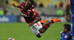 Marlos Moreno no pudo evitar la derrota de Flamengo