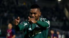 Miguel Ángel Borja, jugador de Palmeiras