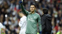 Keylor Navas, arquero del Real Madrid