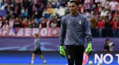 Keylor Navas, portero del Real Madrid