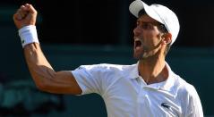 Novak Djokovic en Wimbledon