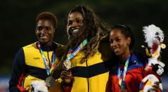 Caterine Ibargüen Juegos Centroamericanos y del Caribe Barranquilla 2018