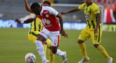 Independiente Santa Fe no pudo pasar del empate ante Bucaramanga en la sexta fecha de la Liga Águila