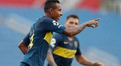 Sebastián Villa, jugador colombiano que actúa en Boca Juniors