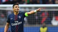Thiago Silva, capitán del Paris Saint Germain
