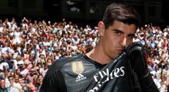 Thibaut Courtois, arquero del Real Madrid