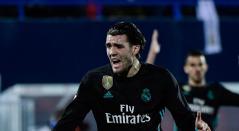 Mateo Kovacic portando la camisa del Real Madrid