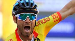 Alejandro Valverde se ha ratificado como el campeón eterno, el corredor que siempre está