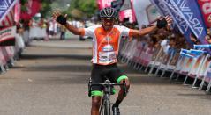 Rafael Montiel, ganador de la sexta etapa del Clásico RCN