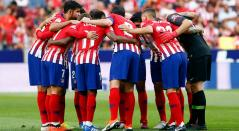 Atlético de Madrid suma cuatro puntos en la liga española, actualmente