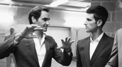 Roger Federer y Novak Djokovic entarán en la
