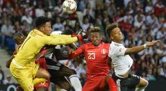 Alemania vence a un enérgico Perú en amistoso