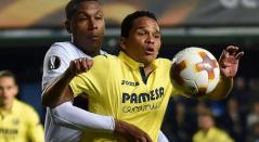 Carlos Bacca, delantero colombiano en el Villarreal