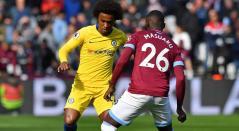 Willian tuvo una oportunidad única para darle la victoria al Chelsea