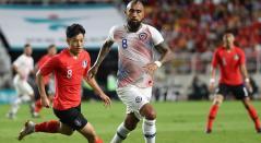 Chile y Corea del sur empataron (0-0) en el partido amistoso