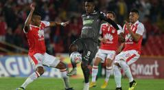 Santa Fe vs Once Caldas en la Copa Águila 2018