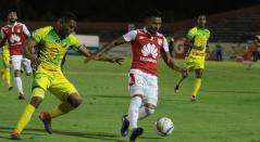 Atlético Huila vs Santa Fe en Liga Águila