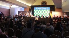 Sorteo para la serie de Copa Davis entre Colombia y Argentina