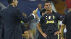Cristiano Ronaldo estalla en llanto tras su expulsión por el altercado con Jeison Murillo