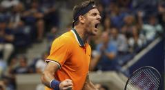 Del Potro, tenista argentino