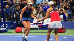 Ashleigh Barty y CoCo Vandeweghe, campeonas en dobles femenino del US Open
